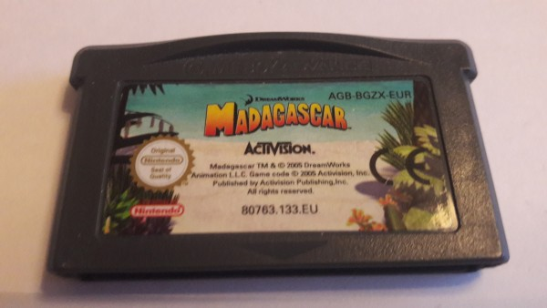 Madagascar - GBA