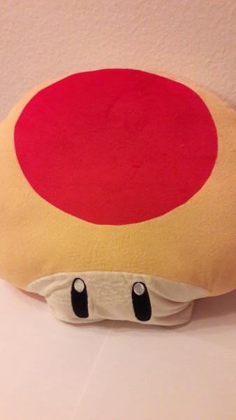 Super Pilz - Plüschfigur - Kissen