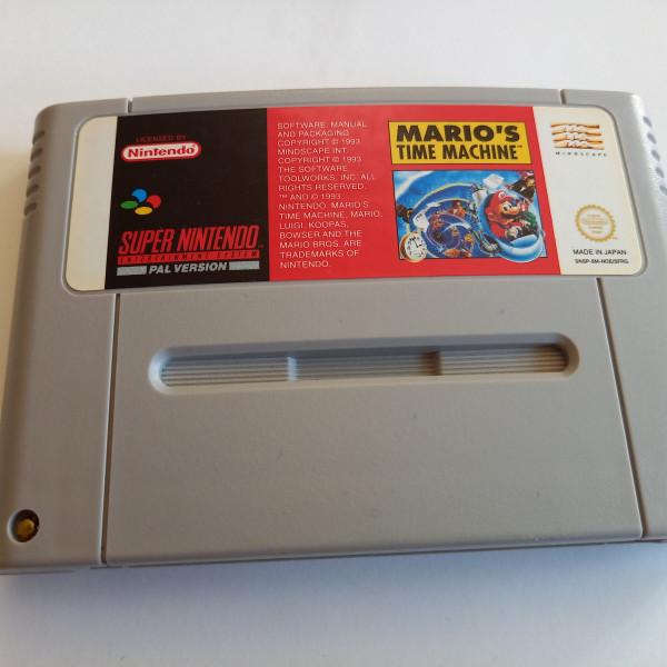 Mario`s Time Machine - SNES