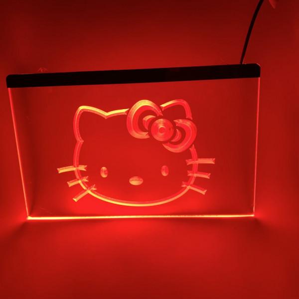 Hello Kitty LED Schild