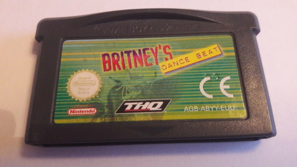 Britney`s Dance Beat - GBA