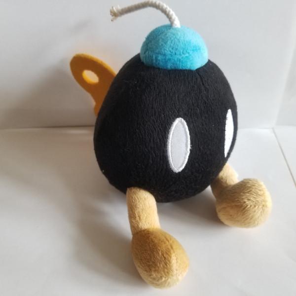Bomb Omb schwarz - Plüschfigur