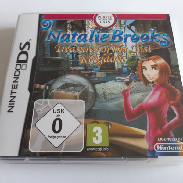 Natalie Brooks - Treasures of the Lost Kingdom - DS