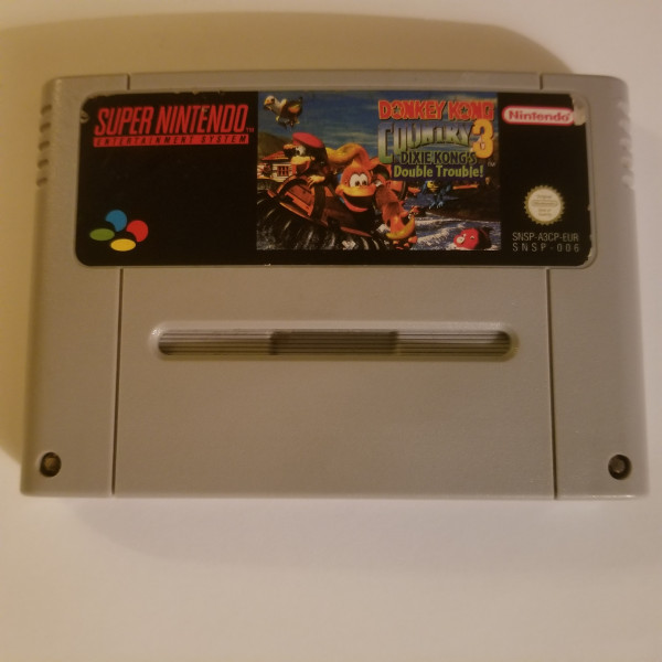 Donkey Kong Country 3 - Dixie Kong`s Double Trouble - SNES