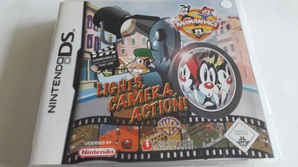 Animaniacs - Lights, Camera, Action - DS