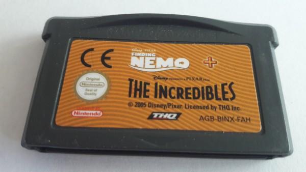Findet Nemo & Die Unglaublichen - GBA