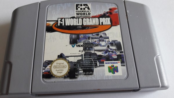 F1 World Ganrd Prix - N64