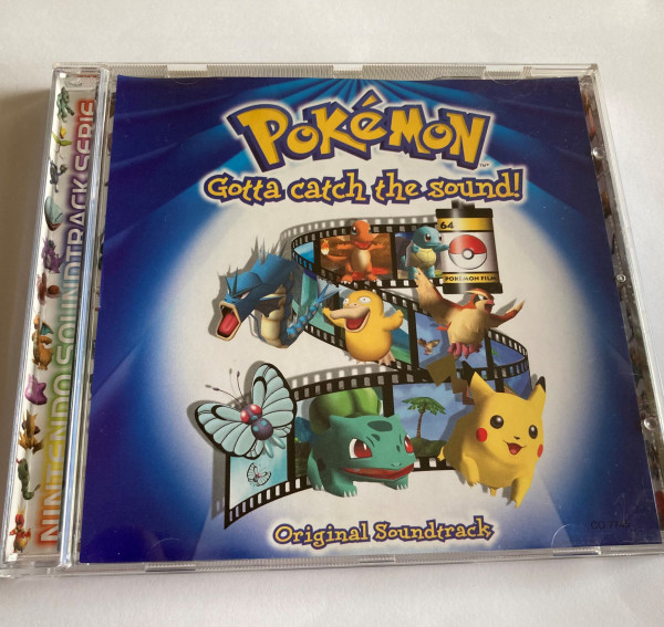 Pokemon - Gotta catch the sound - Original Soundtrack - CD