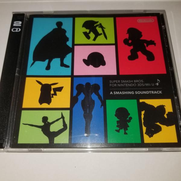 Super Smash Bros for Nintendo 3DS/Wii U - Smahsing Soundtrack - CD