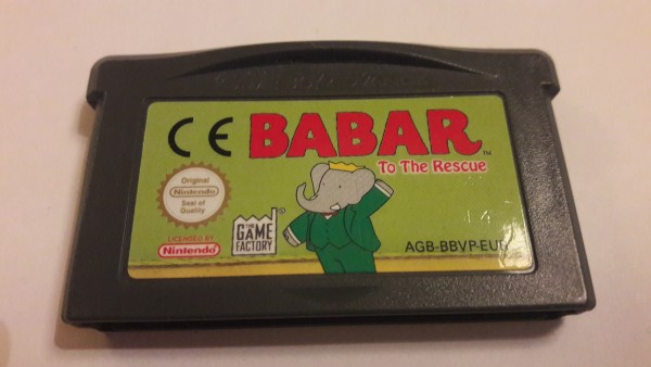 Babar- To the Rescue - GBA