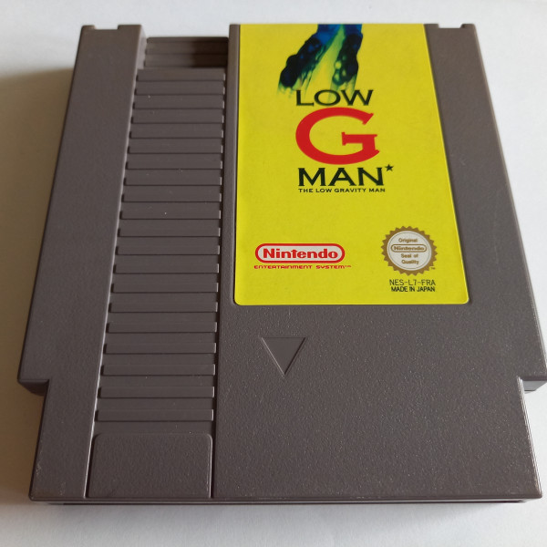 Low G Man - The Low Gravity Man - NES