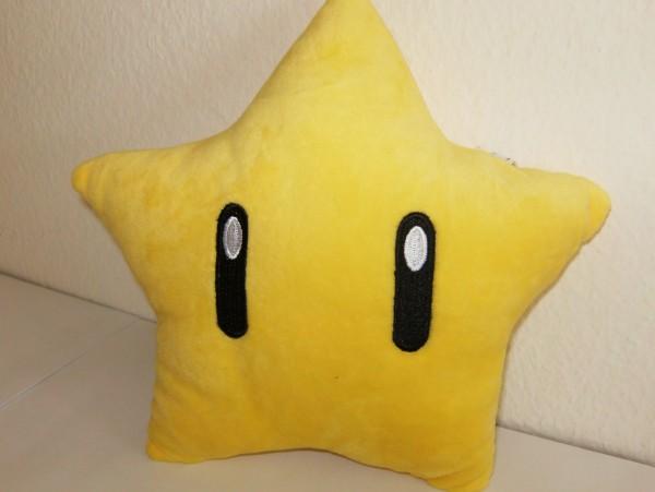 Stern - Super Mario - Plüschfigur