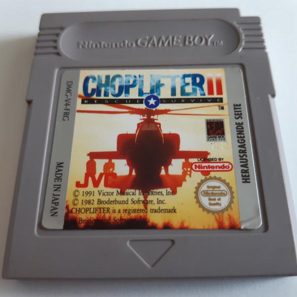 Choplifter II - Game Boy