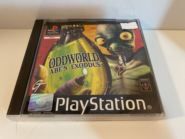 Oddworld - Abe`s Exodus - PS1