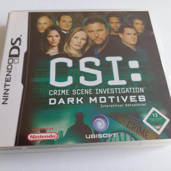 CSI - Crime Scene Investigation - Dark Motives - DS