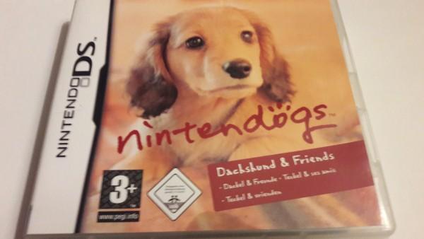 Nintendogs - Dachshund & Friends - DS