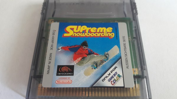 Supreme Snowboarding - GBC