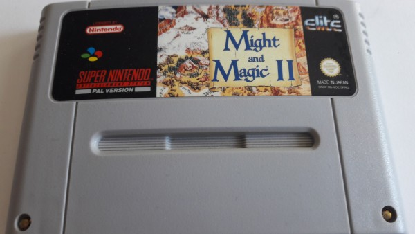 Might and Magic II - SNES
