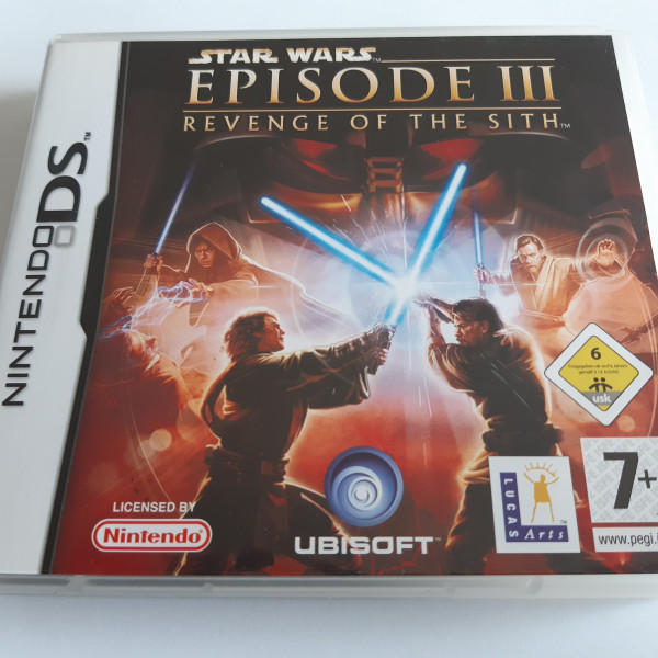 Star Wars Episode III - Revenge of the Sith - DS