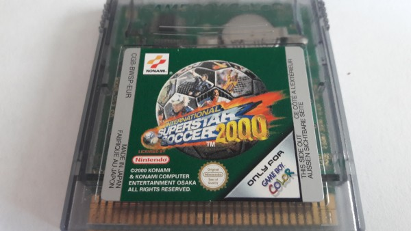International Super Soccer 2000 - GBC