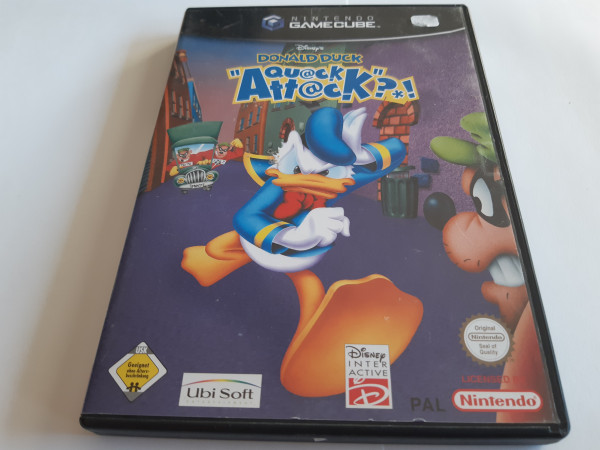 Donald Duck - Quack Attack - GameCube